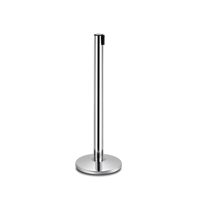 Stanchion, Chrome 7' Retractable  www.Raphaels.com - Call to place your rental order today! 858-689-7368 - www.raphaels.com