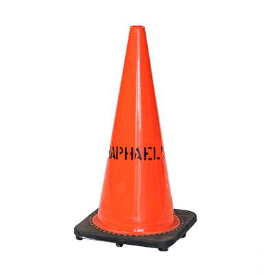 "Traffic Cones 18""    www.Raphaels.com - Call to place your rental order today! 858-689-7368 - www.raphaels.com"