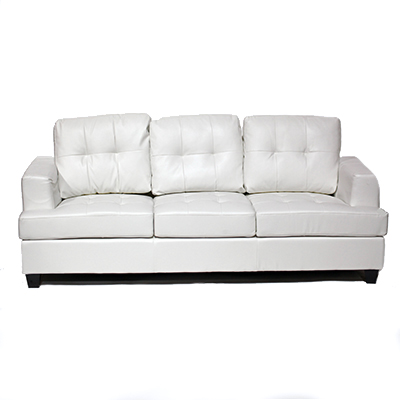 Bella Sofa White  www.Raphaels.com - Call to place your rental order today! 858-689-7368 - www.raphaels.com