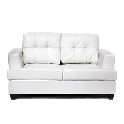 Bella Love Seat White  www.Raphaels.com - Call to place your rental order today! 858-689-7368 - www.raphaels.com